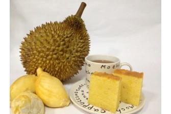 7 Inch Square Durian Butter Cake (Seasonal)