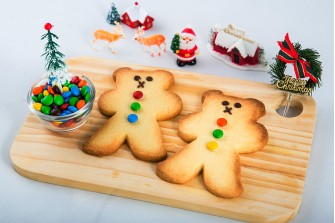 Christmas Teddies (Butter Cookies)