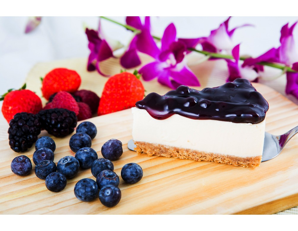 Light Blueberry Cheese Cake