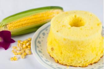 Cream Corn Chiffon Cake