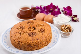 Special Walnut Butter Cake