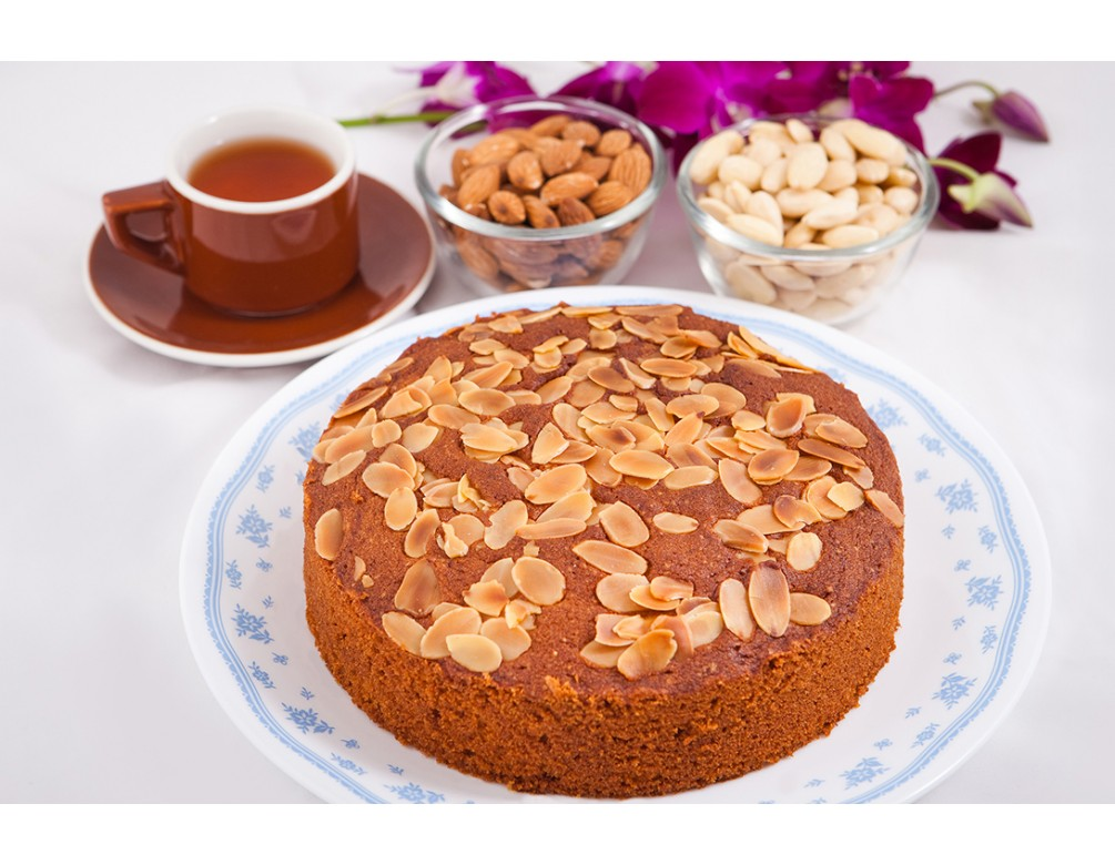 Almond Sugee Cake